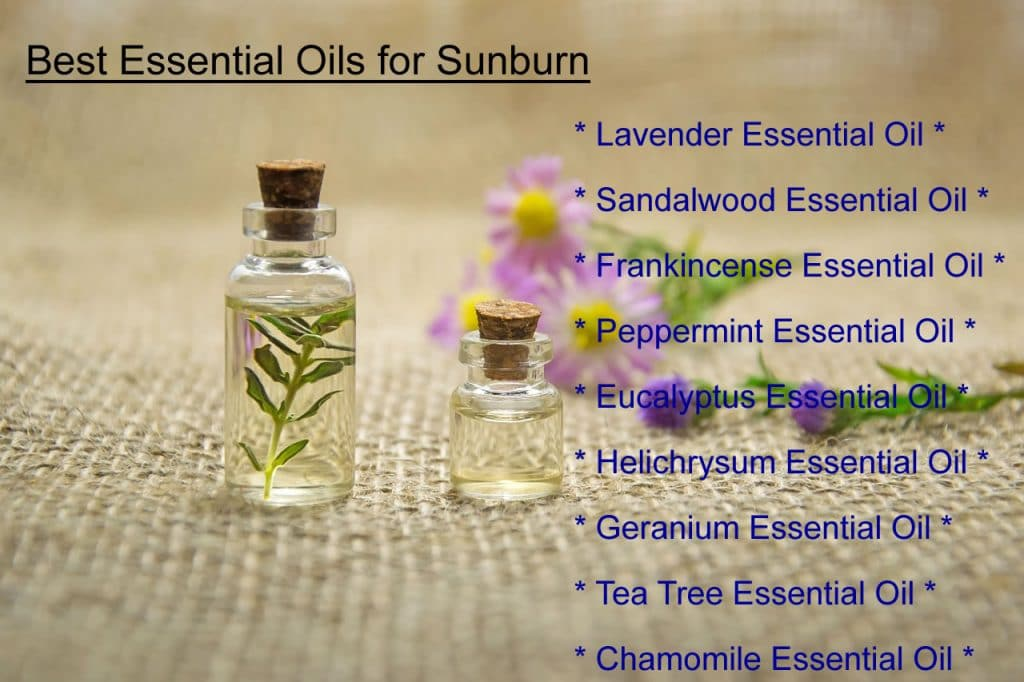 9 Magical Essential Oils for Sunburn (Natural Cooling Recipes)